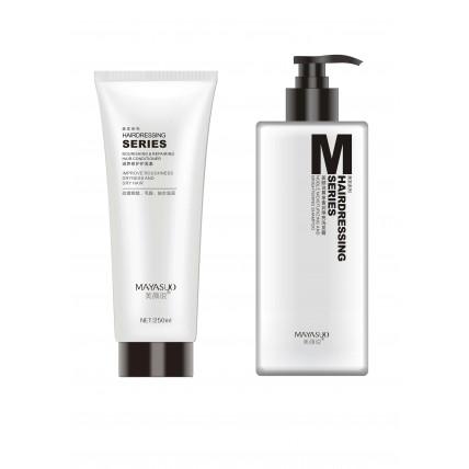Mayasuo šampoon kõigile juuksetüüpidele 400ml+Toitev ja taastav juuste konditsioneer Mayasuo 250ml