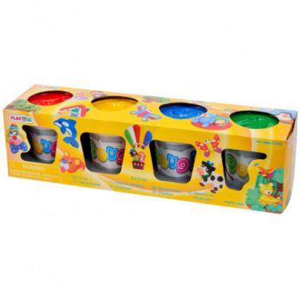 PlayGo 8920 Plastiliini komplekt 4 värvi