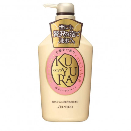 Shiseido «Kuyura» dušigeel lillede aroomiga 550ml