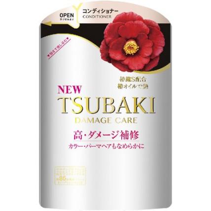 Konditsioneer kahjustatud juuste taastamiseks TSUBAKI Damage Hair, Shiseido, täitepudel 345ml