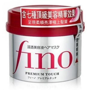 Mask kuivadele ja kahjustatud juustele Shiseido Fino Premium Touch Hair Mask  230 g