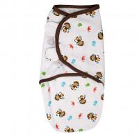 Summer Infant 524848 SwaddleMe puuvillane lina mugava une mähkimise jaoks, lastele kaaluga 3.2 kg kuni 6.4 kg
