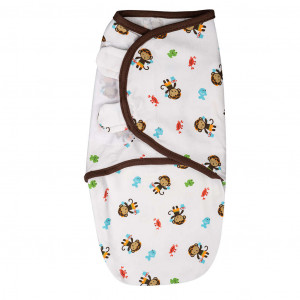 Summer Infant 52484 SwaddleMe puuvillane lina mugava une mähkimise jaoks, lastele kaaluga 3.2 kg kuni 6.4 kg
