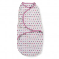 Summer Infant 556566 SwaddleMe puuvillane lina mugava une mähkimise jaoks, lastele kaaluga 3.2 kg kuni 6.4 kg