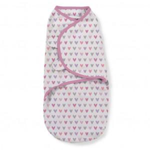 Summer Infant 55656 SwaddleMe puuvillane lina mugava une mähkimise jaoks, lastele kaaluga 3.2 kg kuni 6.4 kg