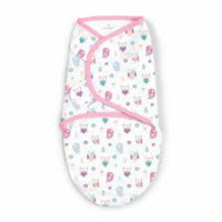 Summer Infant 563564 SwaddleMe puuvillane lina mugava une mähkimise jaoks, lastele kaaluga 3.2 kg kuni 6.4 kg