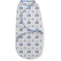 Summer Infant 56586 SwaddleMe puuvillane lina mugava une mähkimise jaoks, lastele kaaluga 3.2 kg kuni 6.4 kg