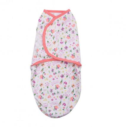 Summer Infant 56666 SwaddleMe puuvillane lina mugava une mähkimise jaoks, lastele kaaluga 3.2 kg kuni 6.4 kg