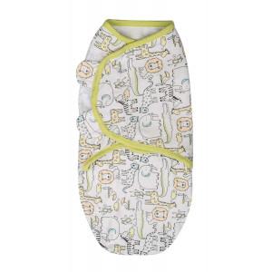 Summer Infant 57276 SwaddleMe puuvillane lina mugava une mähkimise jaoks, lastele kaaluga 3.2 kg kuni 6.4 kg