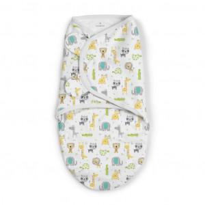Summer Infant 556467 SwaddleMe puuvillane lina mugava une mähkimise jaoks, lastele kaaluga 3.2 kg kuni 6.4 kg