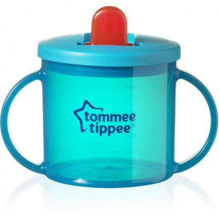 Tommee Tippee First Cup esimene joogitops suletava nokaga 4+ kuud 190ml