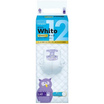 Mähkmed Whito L 9-14kg 12h 40tk