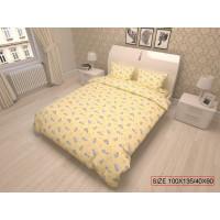 Kaheosaline laste voodipesukomplekt, BEARS 100x135/40x60cm
