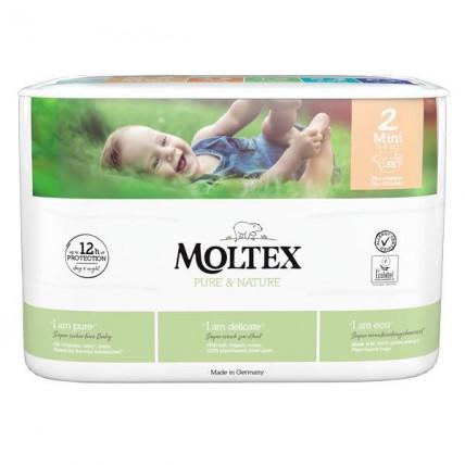 Mähkmed Moltex Pure & Nature 2 Mini 3-6kg 38tk