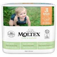 Mähkmed Moltex Pure & Nature 3 Midi 4-9kg 33tk
