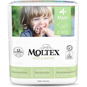 Mähkmed Moltex Pure & Nature 4 Maxi 7-18kg 29tk
