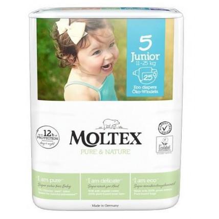 Mähkmed Moltex Pure & Nature 5 Junior 11-25kg 25tk