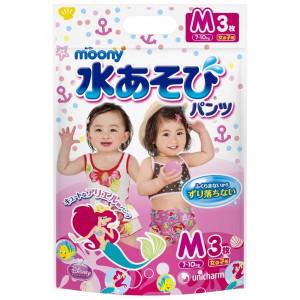 Moony ujumispüksikud tüdrukutele suurus PM 6-12kg 3tk