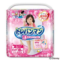 Training Pants Moony BIG 12-22 kg for girls 18tk
