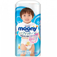 Püksmähkmed Moony PBL boy 12-22 kg